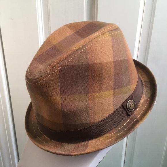 3699ecfea60 Goorin Brothers Other - GOORIN BROTHERS Plaid Fedora Hat